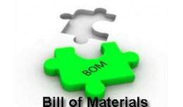 BoM (Bill of Materials) Single-level & Multi..