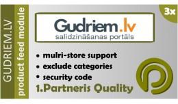 Gudriem.lv Data Feed for OpenCart 3.x