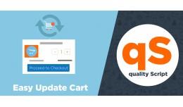 Easy Update Cart