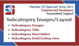 Subcategory Images/Layout : OCMOD (Free Installa..