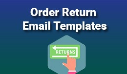Order Return Email Templates