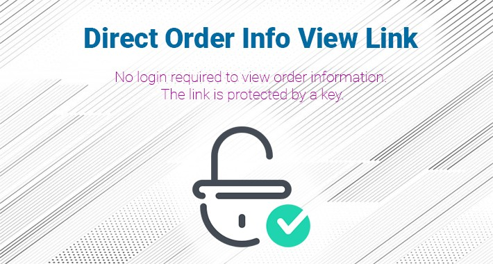 Direct Order Info View Link
