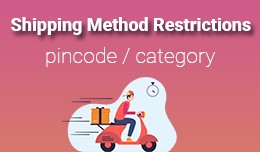 Shipping Method Restrictions based on Pincode or..