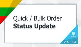 Mass Order Status Update
