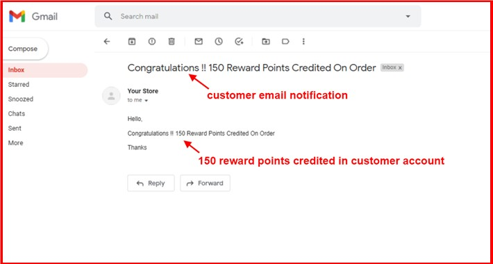 Reward Points On New Order