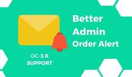 Better Admin Order Alert Email