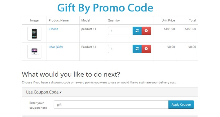 Gift By Promo Code