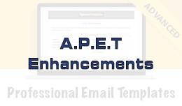 A.P.E.T Enhancements