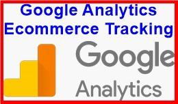 Google Analytics Ecommerce Tracking