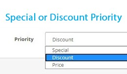 Special or Discount Priority