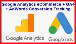 Google Analytics eCommerce + GA4 + AdWords Conve..