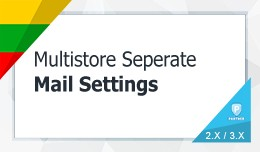 Multistore Separate Mail Settings (diferrent SMT..