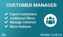 Customer Manager