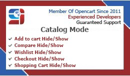 Catalog mode(Remove Add to Cart/Wishlist/Compare..