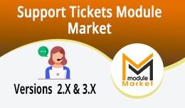 Support Tickets  (Module Market)