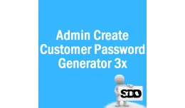 Admin Create Customer Password Generator