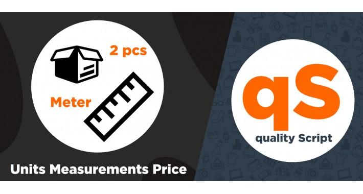 Price Per Unit Pro - Units Measurements Price
