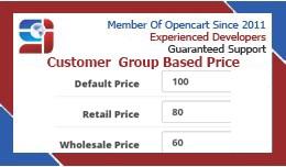 Customer Group based price ( VQMOD/OCMOD )