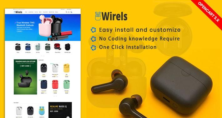 Wirels Wireless airpods-earbuds Theme(Free installation)