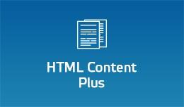 HTML Content - Plus
