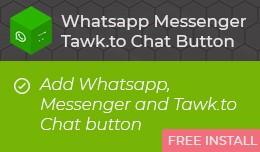 Whatsapp Messenger Tawk.to Chat Button [advanced]