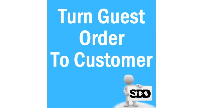 Guest Order To Customer