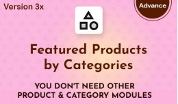 Featured Products by Categories