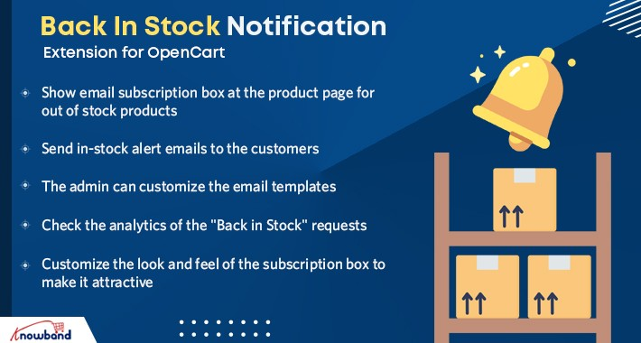 Opencart  Back In Stock Notification