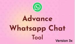 Advance Whatsapp Chat