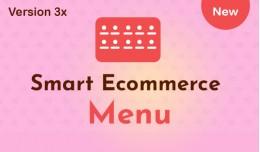 Smart Ecommerce Menu
