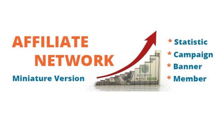 Affiliate network (Miniature version)