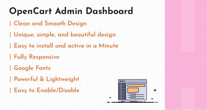 Admin InterFace (Administrator Opencart)