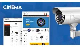 Cameras Mega Multi Store Premium Opencart Theme