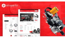 Carparts Mega Multi Store Premium Opencart Theme
