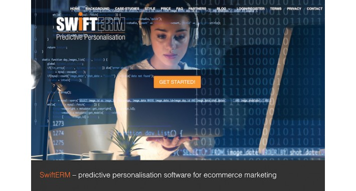 SwiftERM Predictive personalisation for ecommerce