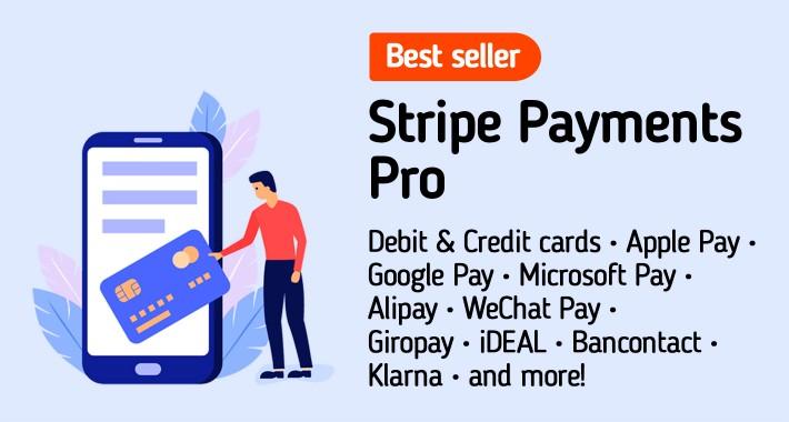 Stripe Gateway PRO :: Apple Pay :: SCA :: 3D Secure