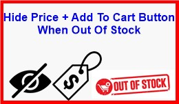 Hide Price + Add To Cart Button When Out Of Stock