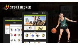 Sport Multipurpose Responsive  Multistore