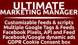 Ultimate Marketing Manager (Feeds, Tags & GD..