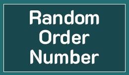 Random Order Number