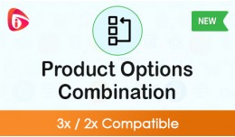 Product Option Combination