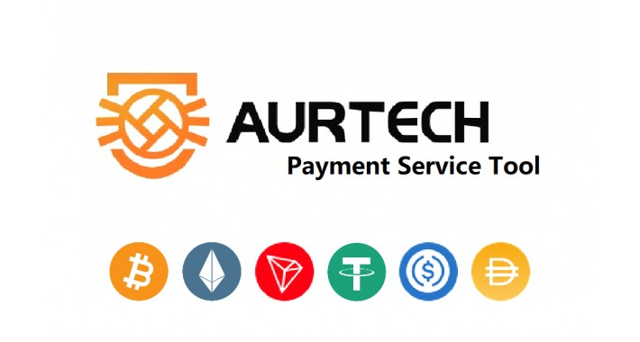 AURTECH-Bitcoin and Ethereum Cryptocurrency Payment Service Tool