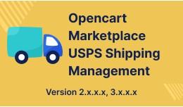 Opencart Multi Seller Marketplace USPS Shipping ..