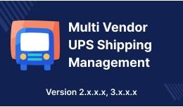 Opencart Multi Seller Marketplace UPS Shipping M..