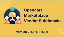 Opencart Multi Vendor Marketplace Vendor Subdomain