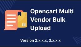 Opencart Multi Vendor Marketplace Product Mass U..