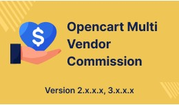Opencart Multi Vendor Advance Commission