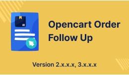 OpenCart Order Follow Up