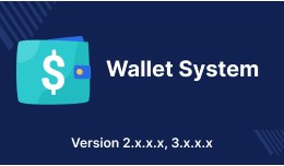 Opencart Wallet System