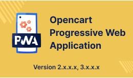 Opencart Progressive Web Application